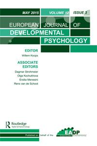 European Journal of Developmental Psychology cover