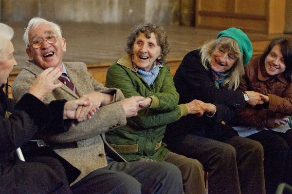 People with dementia & relatives participate in Mindsong project