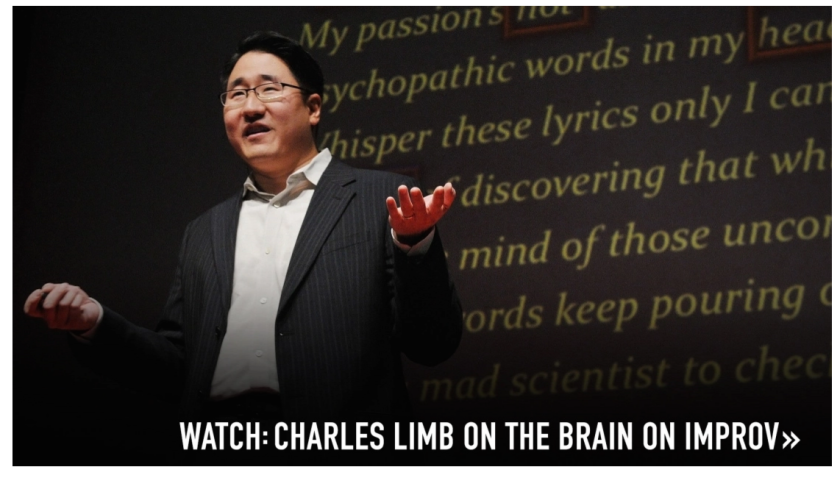 Charles Limb on the brain and improv