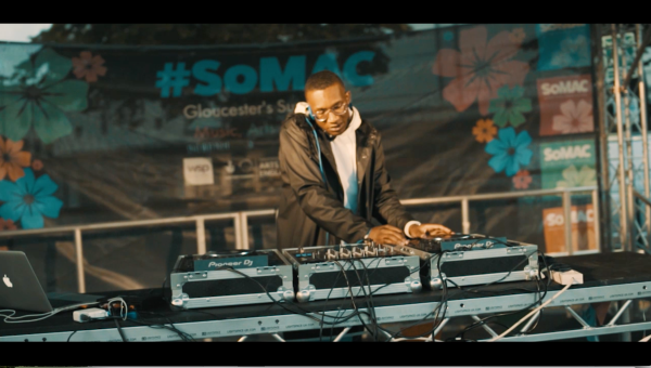 NYTA music producer at SOMAC festival Gloucester