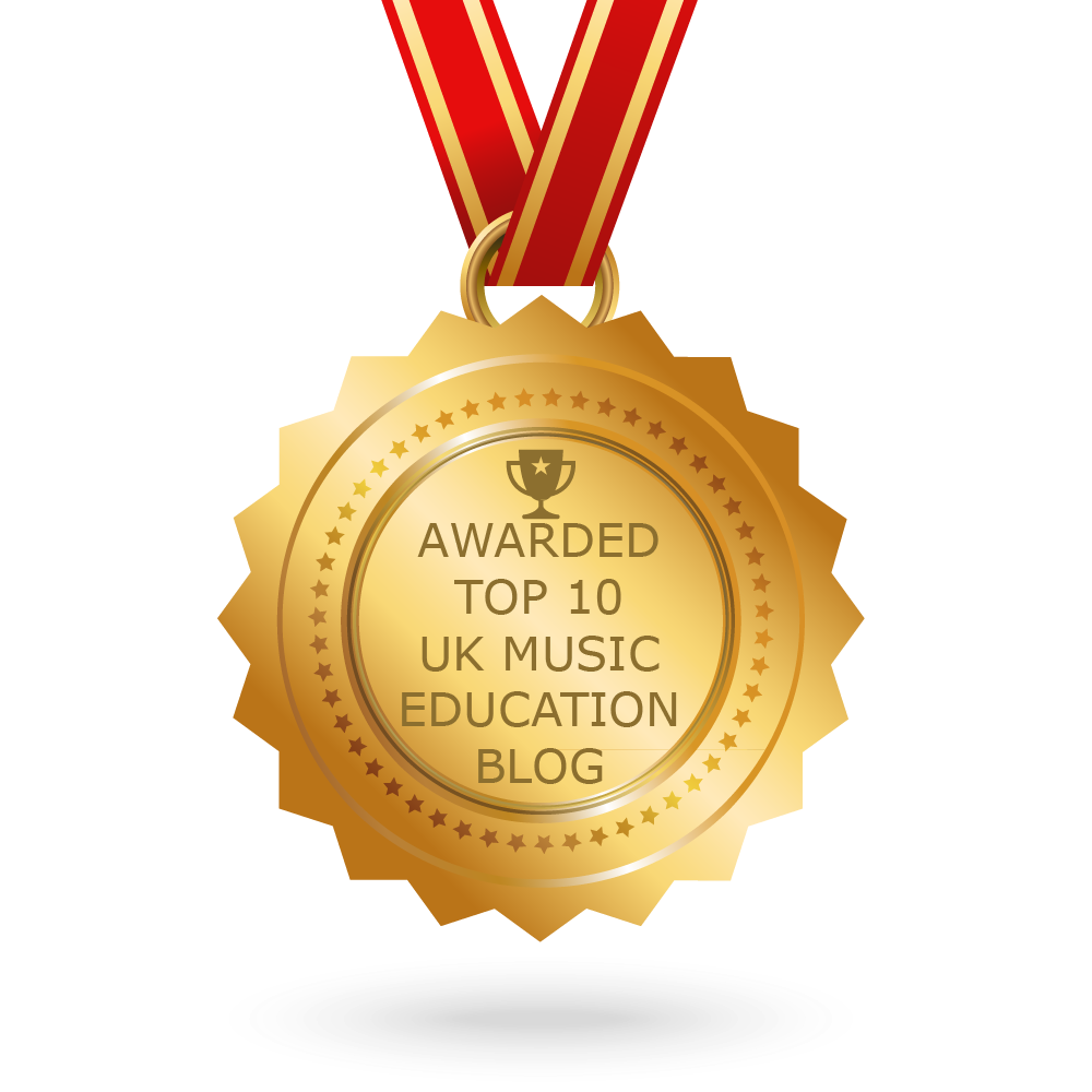 We're in the Top 10 of music education blogs and websites!