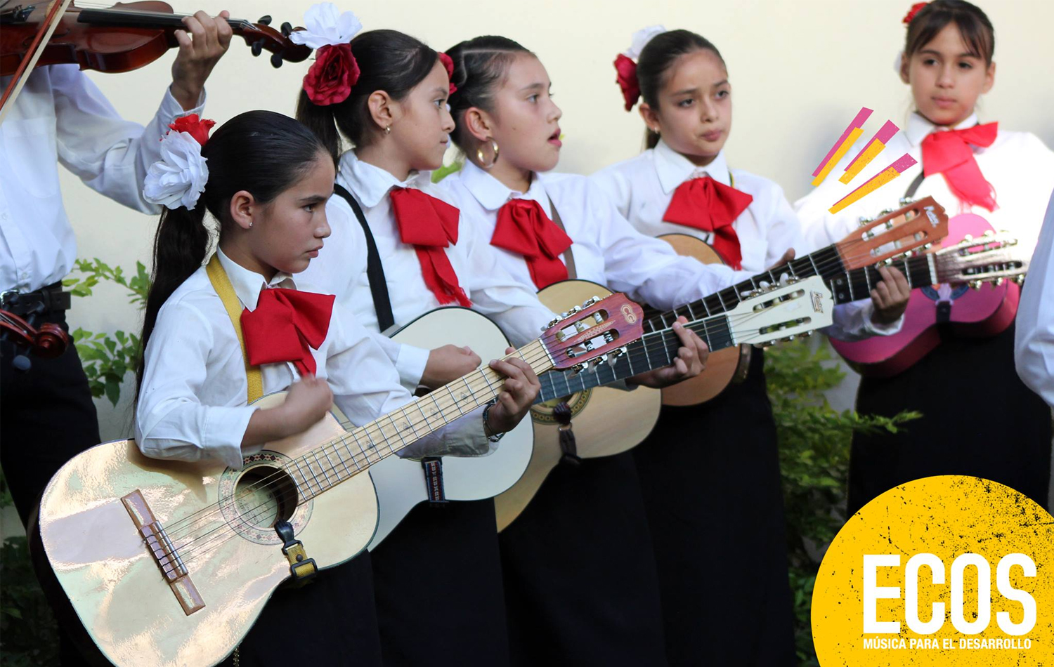 Music education helps the social and emotional development of children in Jalisco, Mexico